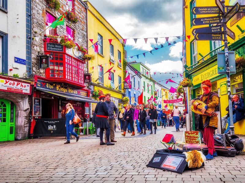 estudar e trabalhar na Irlanda